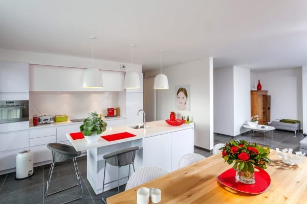 Greeploze keuken hoogglans wit – Hasselt